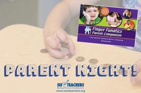 finger funatics parent night