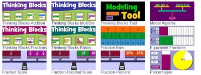 fraction manipulatives math playground