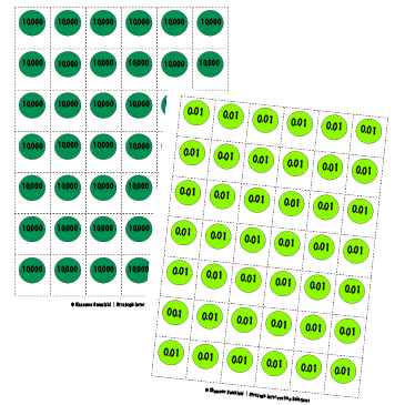 place value discs