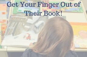 Get Your Finger Out of Their Book!