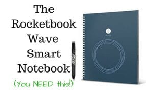 The Rocketbook Wave Smart Notebook