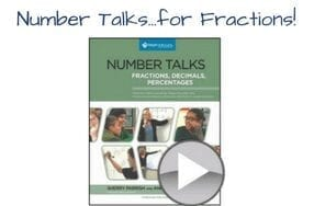 Number Talks…for Fractions!