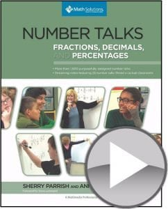 number talks fractions