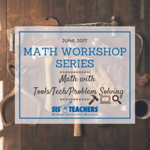 math workshop tech tools writing