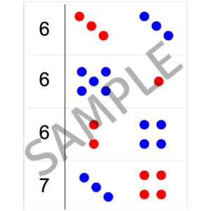 sample of screener dots