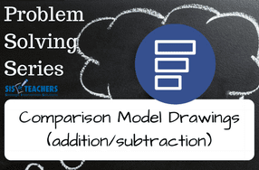 Problem Solving Series: Comparison Model Drawings (Addition/Subtraction)