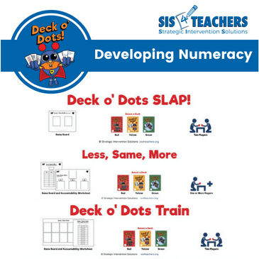 Deck o Dots Numeracy