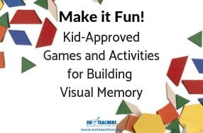 Make it Fun! Kid-Approved Games for Building Visual Memory