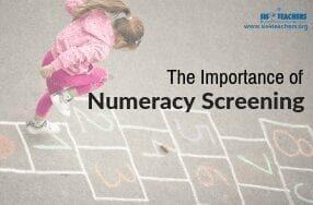 numeracy screener