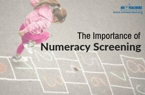numeracy screener
