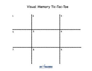 Visual Memory Tic-Tac-Toe