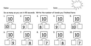 number bond race