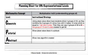 cpa planning example