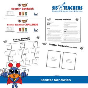 scatter sandwich