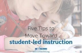 five tips for student-led instruction