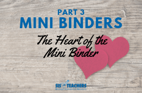 Mini Binders Part 3: The Heart of the Mini Binder