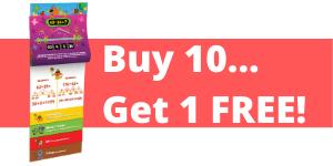 Buy 10… Get 1 FREE!