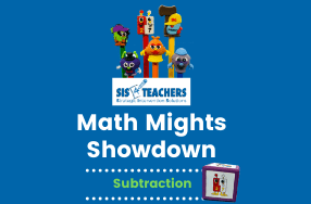 Math Mights Showdown: Subtraction Edition!