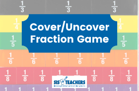 Math Games: Fractions – Cover/Uncover!