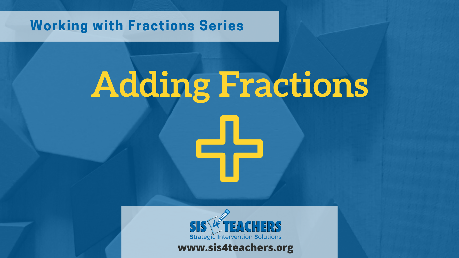 Working with Fractions: Adding Fractions
