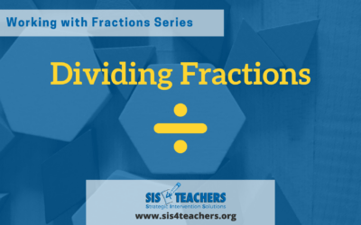 Working with Fractions: Dividing Fractions