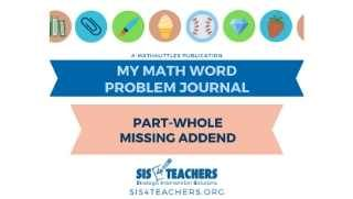1st Grade Problem Solving: Part-Whole Missing Addend