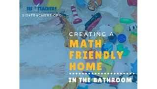 Creating a Math Friendly Home in the Bathroom