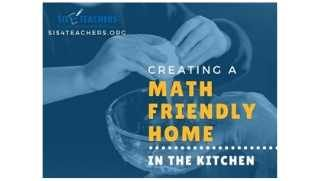 Creating a Math Friendly Home: In the Kitchen