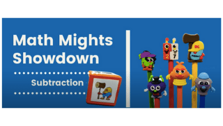 Math Mights Showdown: Subtraction