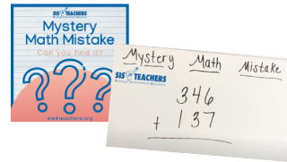 Mystery Math Mistake: Traditional Addition