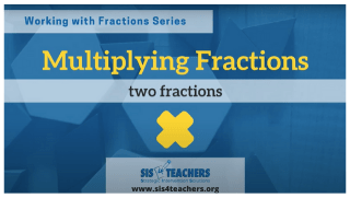 Multiplying Fractions: Two Fractions