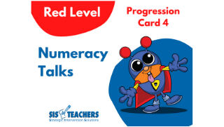 Numeracy Talks – Red Level – Progression Card 4