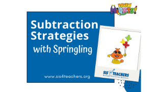 Subtraction with Springling