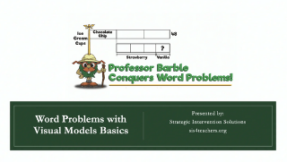 Word Problems with Visual Models – Basics