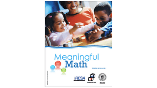 Meaningful Math for PreSchoolers