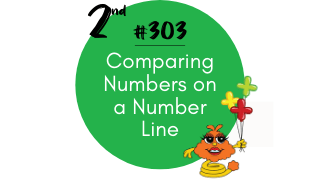 303- Comparing Numbers on a Number line