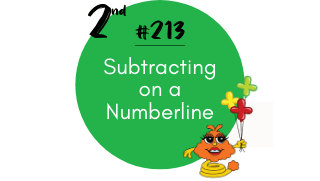 213-Subtracting on a Numberline