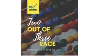 Two Out of Three Race