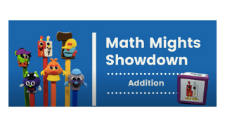 Math Mights Showdown: Addition