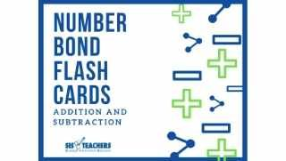 Number Bond Flash Cards – Addition/Subtraction