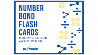 Number Bond Cards: Multiplication/Division