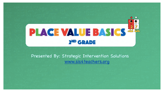 Place Value Basics – 2nd Grade