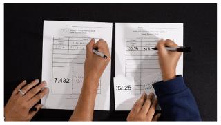 K-5 Math Game: Decimal Pairs