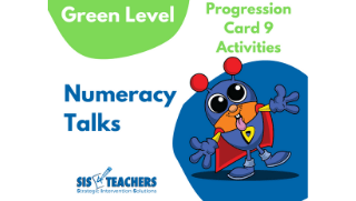 Numeracy Talks – Green Level – Progression Card 9
