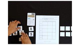 K-5 Math Game: What's the Smallest (or Largest) Sum?