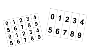 Digit Cards 0-9