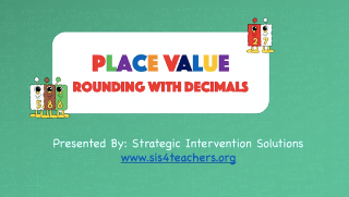 Place Value: Rounding with Decimals