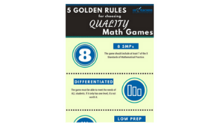 Quality vs Quantity Math Games Infographic