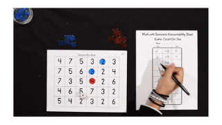 K-5 Math Games: Count on One