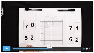K-5 Math Games: Closest to Zero
